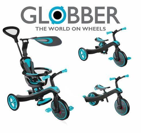 Велосипед-беговел Globber Explorer Trike 4in1. Новинка. Гарантия.