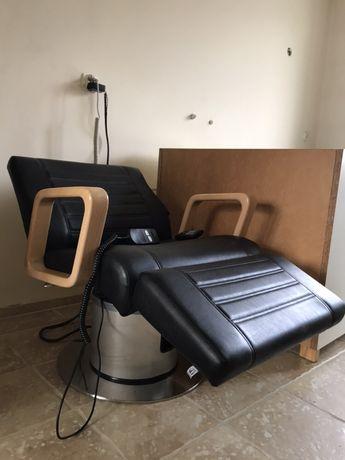 Myjnia fryzjerska z fotelem masującym Panda Spa & Wellness