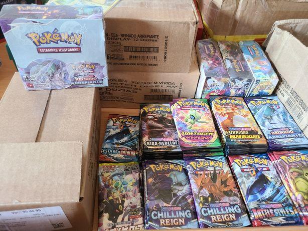 Pokémon TCG boosters avulso e boxes em português originais seladas
