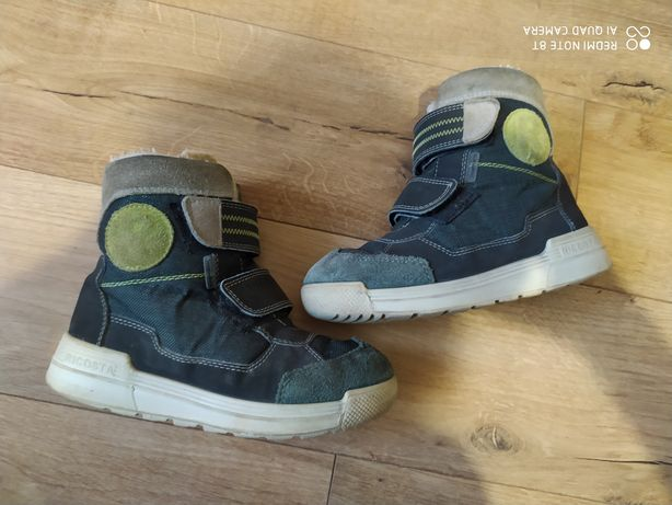 Терміново! Чоботи ботинки сапоги зимові  ricosta tex термо 31р, 20см