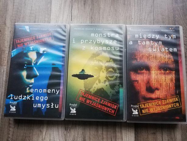 Tajemnice zjawisk niewyjaśnionych. VHS STAN BDB! UNIKAT!
