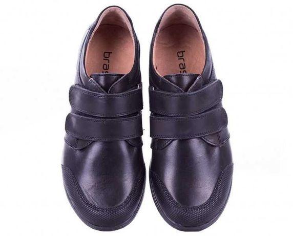 Кожаные кроссовки Braska, полуботинки,кеды