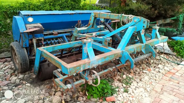 Agregat uprawowo siewny, hydraul.elektr. (z poznaniakiem 2,7 m)