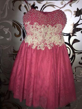 Платье розового цвета
