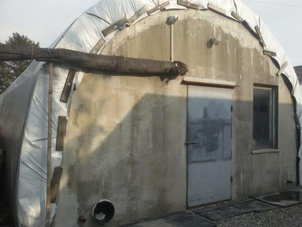 Foliak Tunel foliowy pod uprawy pieczarek pieczarkarnia FOLIA osprzęt