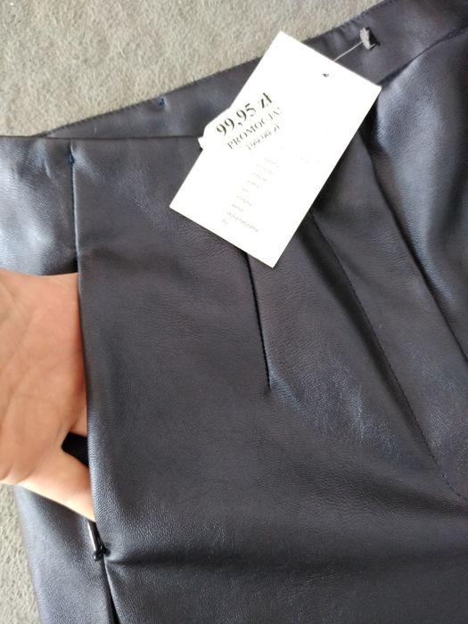 Spodnie skórzane 36 S NOWE Leszno - image 1