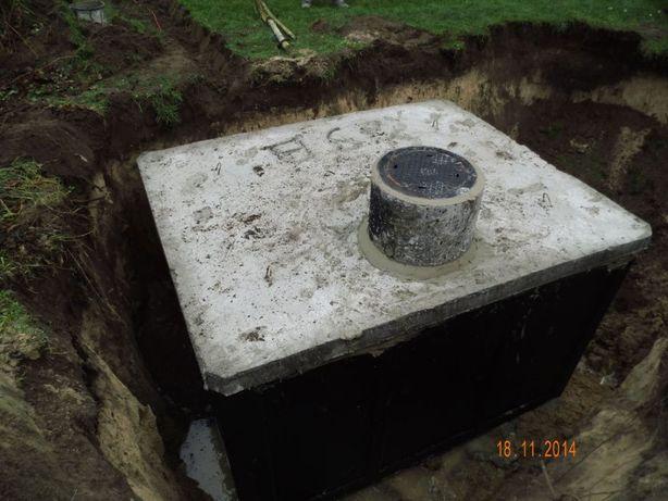 Zbiornik na gnojowicę gnojówkę szambo 13m3 szamba betonowe deszczówkę