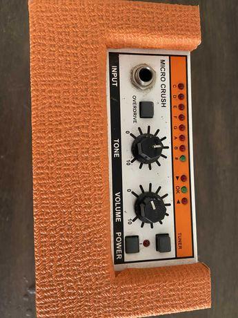 Orange Crush Mini amplificador guitarra portátil