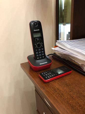 Телефон мобильный и стационарный в одном цвете для офиса, бизнеса.