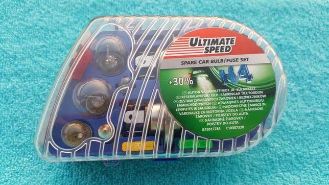 Żarówki Ultimate Speed H4 30% więcej światła