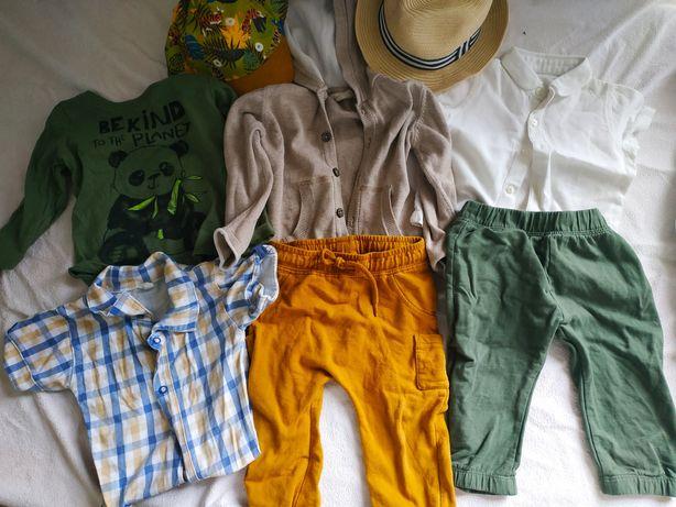 Paka ubrań dla chłopca 74 80