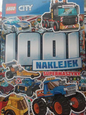 Książka LEGO City SUPERMASZYNY 1001 naklejek