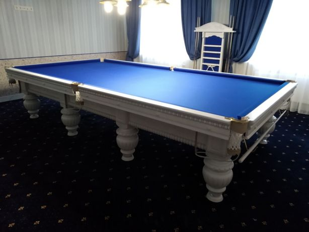 Бильярдный стол Перетяжка и Ремонт Реставрация Більярдний стіл