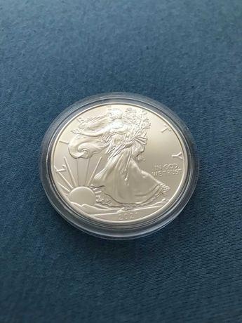 Srebrna moneta American Eagle - One Dollar 2021 Liberty - Ag 999 - 1OZ