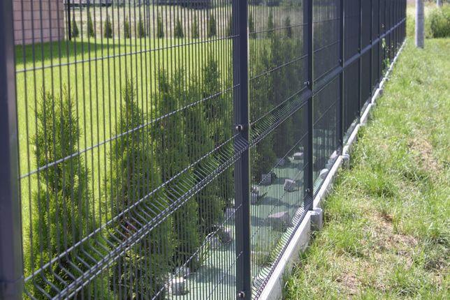 Panel ogrodzeniowy 123cm fi5 zielony 6005 VEGA B Wiśniowski siatka