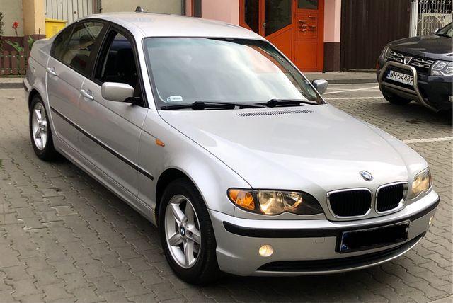 BMW E46 318i 2.0 143hp 2003 zadbana bogato wyposażona