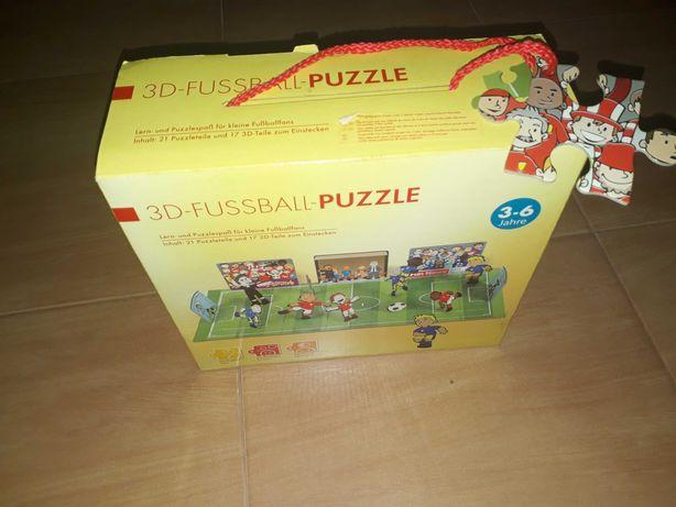 Puzzle 3D Futebol