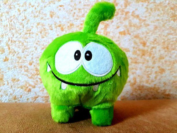 Мягкая игрушка Ам Ням М'яка іграшка Om nom 21 см присоска