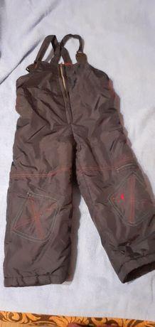 Зимние штаны комбинезон, размер 104