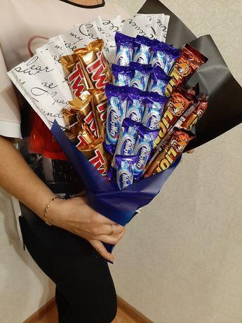 Букеты из конфет на любой вкус и бюджет
