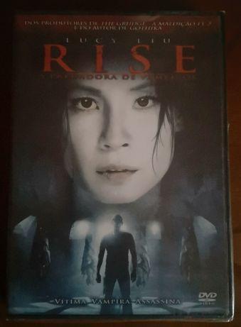 """DVD novo/selado """"Rise - A Predadora de Vampiros"""""""