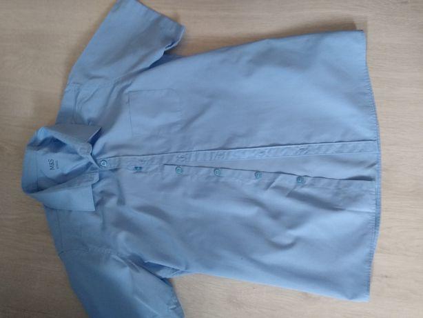 Koszula chłopięca niebieska