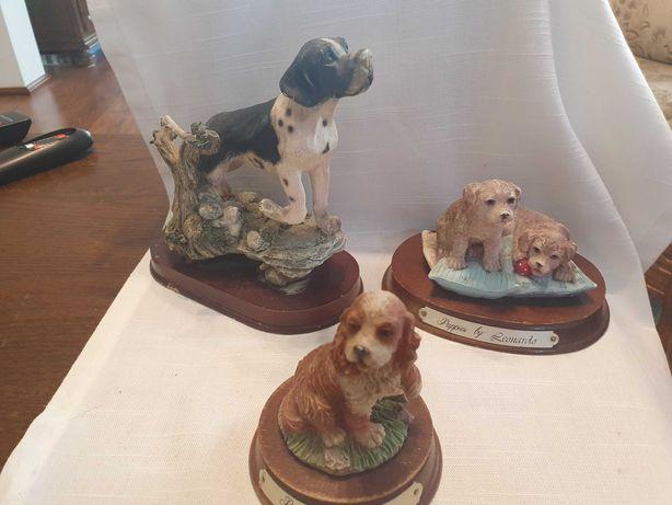 Pieski figurki 3 szt Puppies by Leonardo