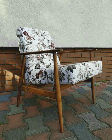 Fotel PRL Lisek, typ 300-190, proj. Henryk Lis, retro, vintage!