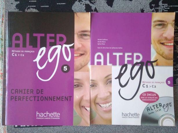 Livro Alter ego 5 (méthode de Français C1>C2)