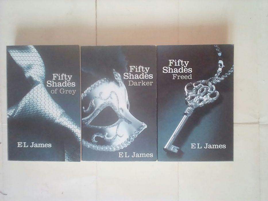 Книга бестселлер 50 оттенков серого fifty shades of grey english book Киев - изображение 1