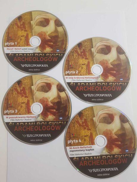 Śladami Polskich Archeologów na czterch plýtach DVD