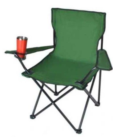 Кресло  стул + чехол складной туристический зеленый синий