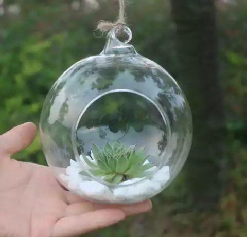 Ваза вазон горшок для цветов флорариум