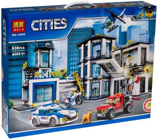 Лего Полицейский Участок Конструктор Полиция Bela Cities 10660 936шт