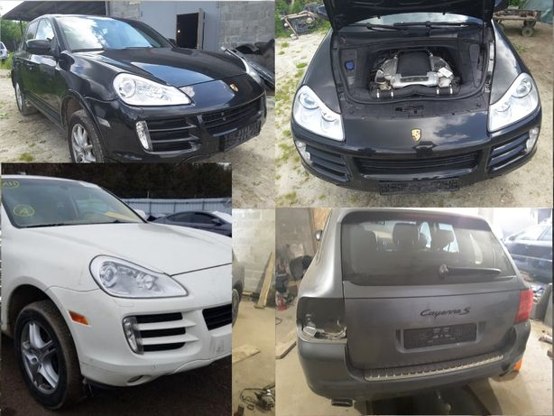 Запчасть б/у, Porsche Cayenne 955, 957 3.6 4.5, 4.8 03-10р.в. разборка