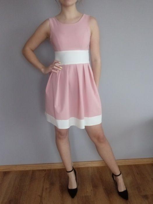 Sukienka różowa Nierada - image 1
