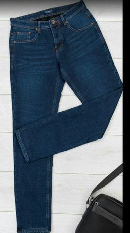 СРОЧНО! Мужские , теплые джинсы на флисе 36р (52-56 укр.р)