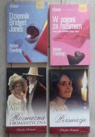 Książki Dziennik Bridget Jones i inne tytuły 8zł/szt