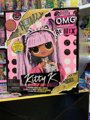 Набор с куклой Remix Kitty K от бренда LOL Surprise из серии OMG