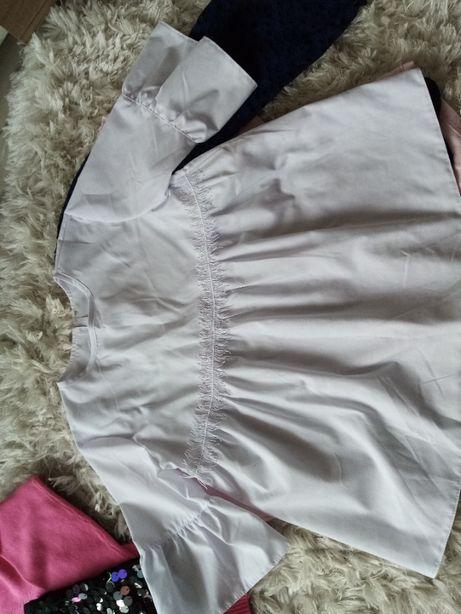 bluzeczka galowa biała roz 146-152