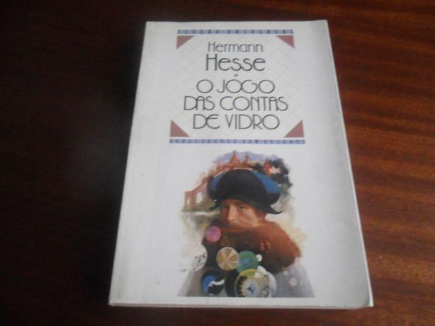"""""""O Jogo das Contas de Vidro"""" de Hermann Hesse - 1ª Edição de 1989"""