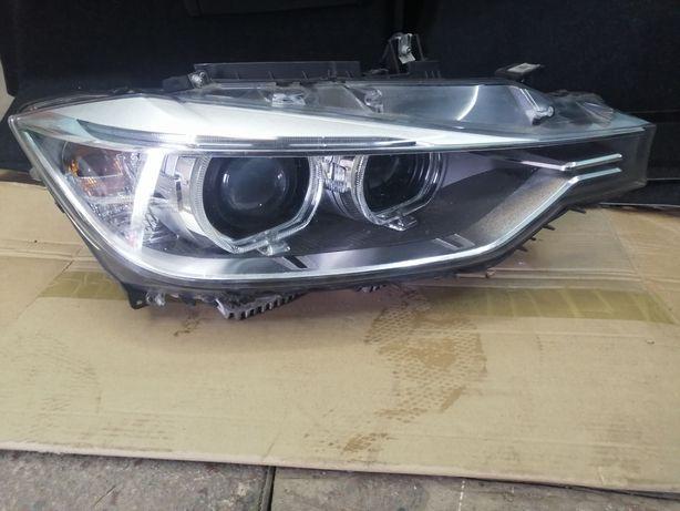 Lampa BMW F30 xenon dynamic USA skretna prawa kompletna