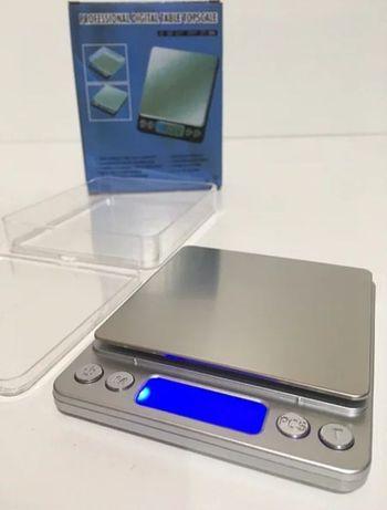 Ювелирные электронные весы очень компактные, многофункциональные  3кг