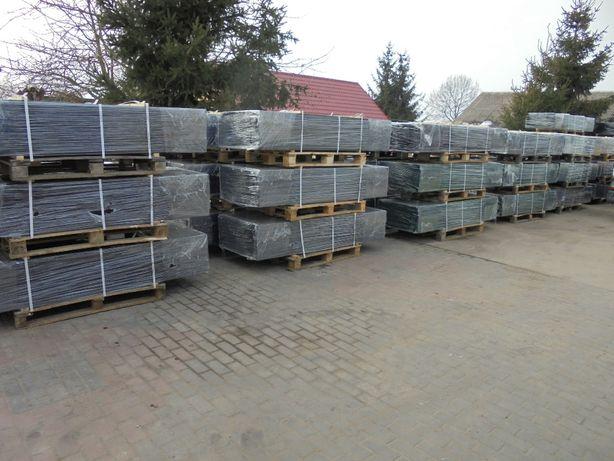 Słupki/Słupek/Panel/Panele ogrodzeniowe 60x40x1,5mm-ocynk+kolor grafit