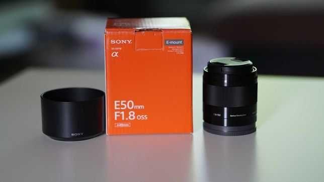 Lente Sony 50mm 1.8 OSS
