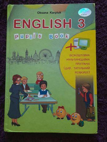 Англійська мова 3 Карпюк