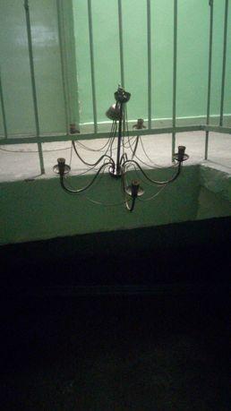 Żyrandol lampa swiecznik