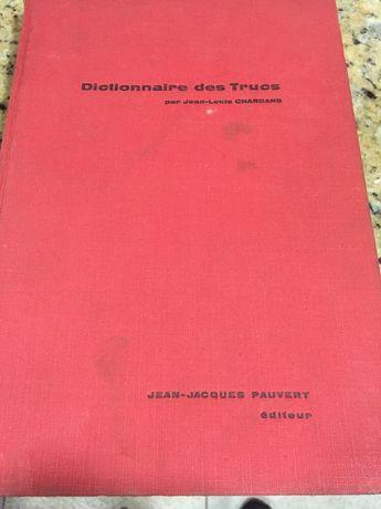 Dicionário Magia Francês 1960