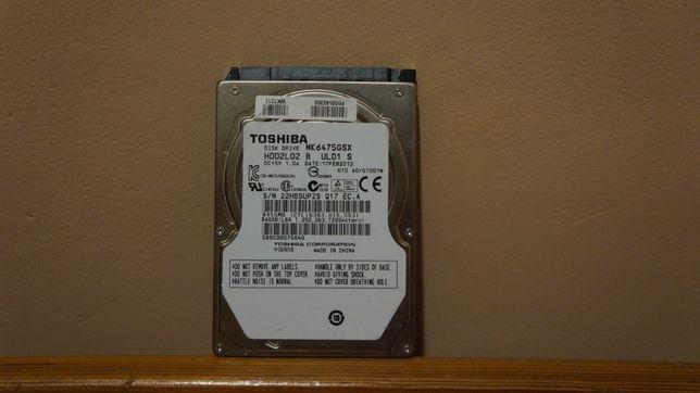 Dysk HDD toshiba 640GB