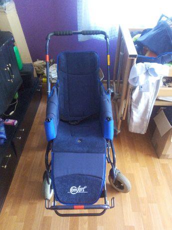Wózek inwalidzki specjalny typu comfort 5 do 50 kg